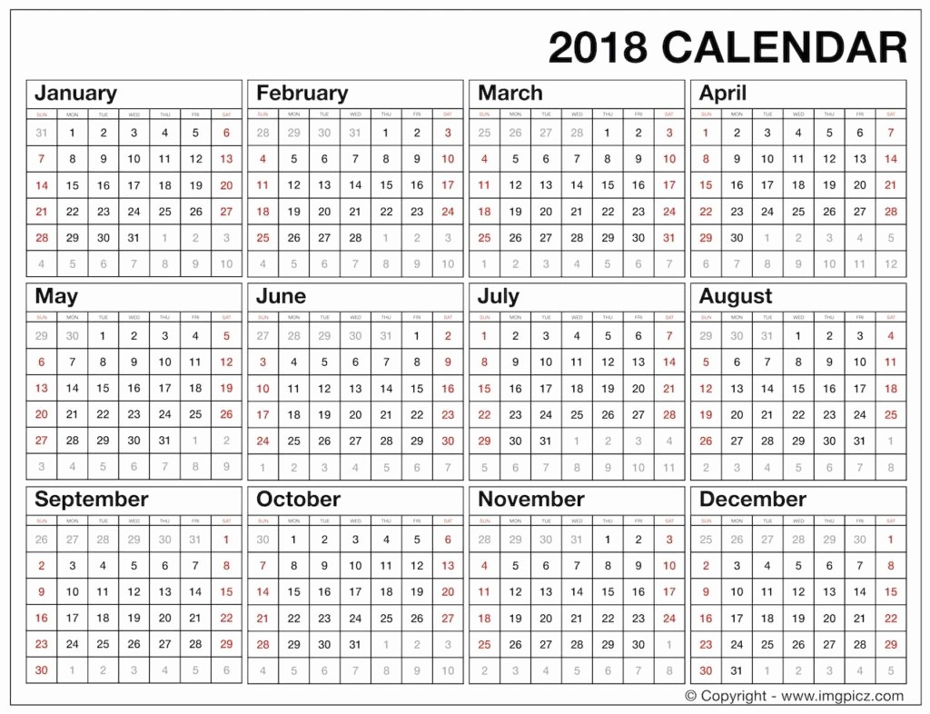 Printable Full Year Calendar 2017 Lovely 2017 Calendar E Page Printable 2017 Calendar One Page