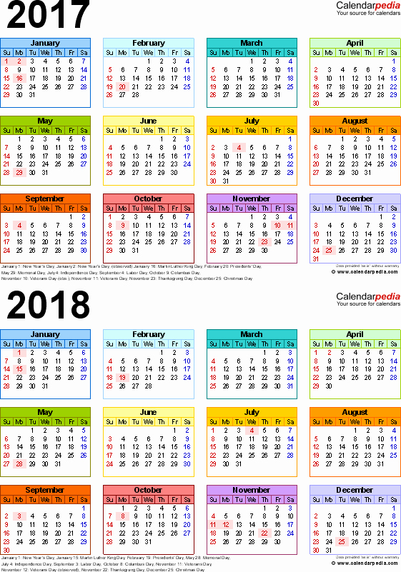 Printable Full Year Calendar 2017 New Campusjaar 2017 2018 Campus Columbus