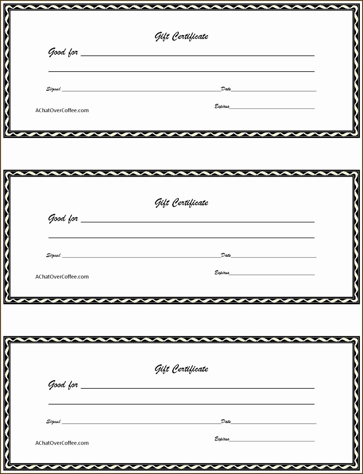 Printable Gift Certificates Online Free Inspirational 20 Free Gift Certificate Template
