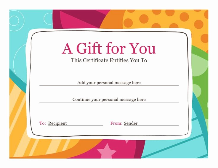 Printable Gift Certificates Online Free Inspirational Best 25 Gift Certificate Template Word Ideas On Pinterest