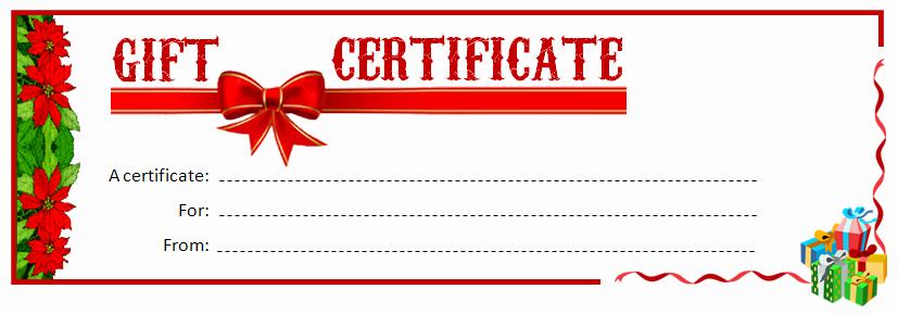 Printable Gift Certificates Online Free Unique 28 Cool Printable Gift Certificates