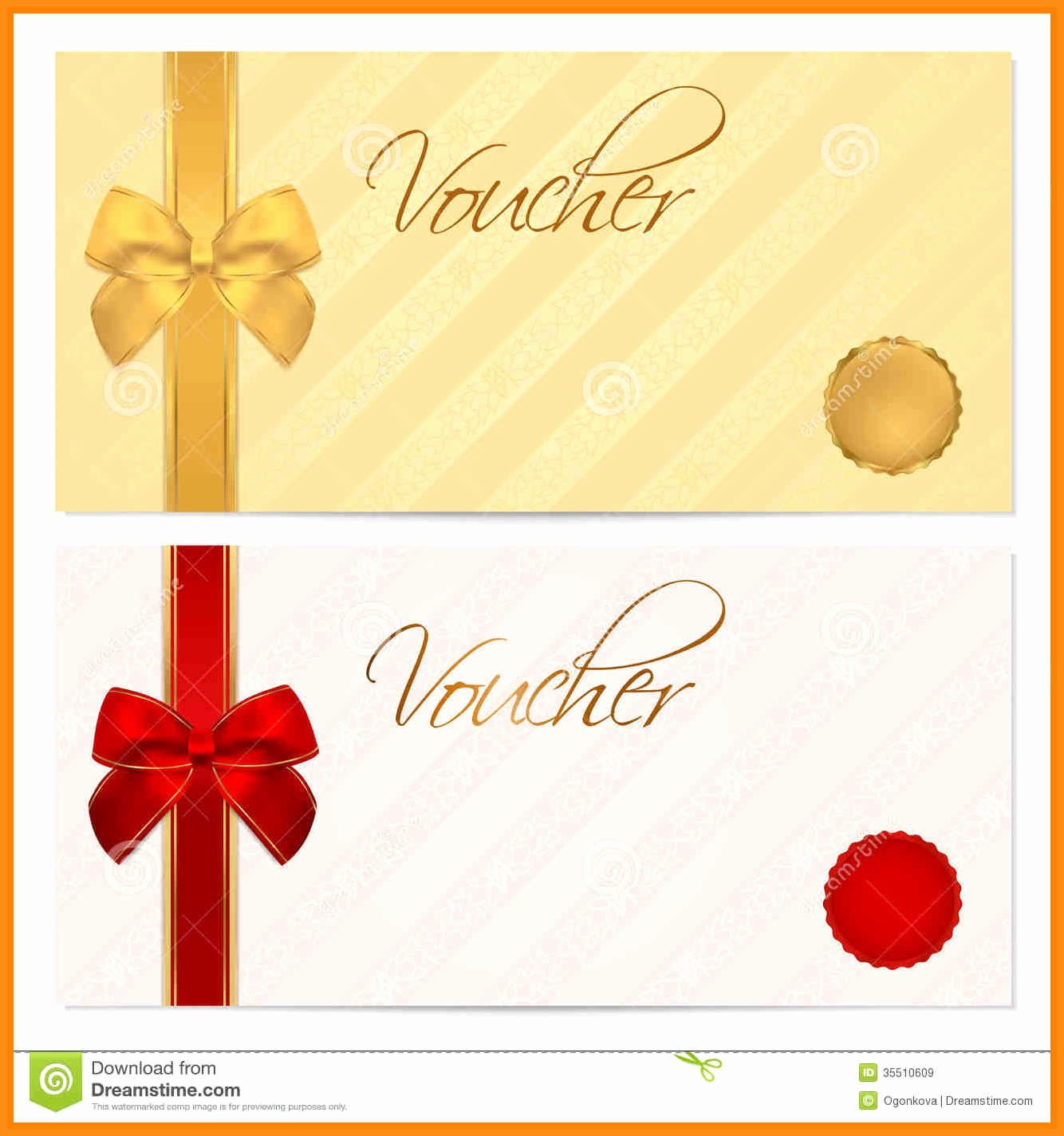 Printable Gift Coupon Templates Free Awesome 11 Voucher Template