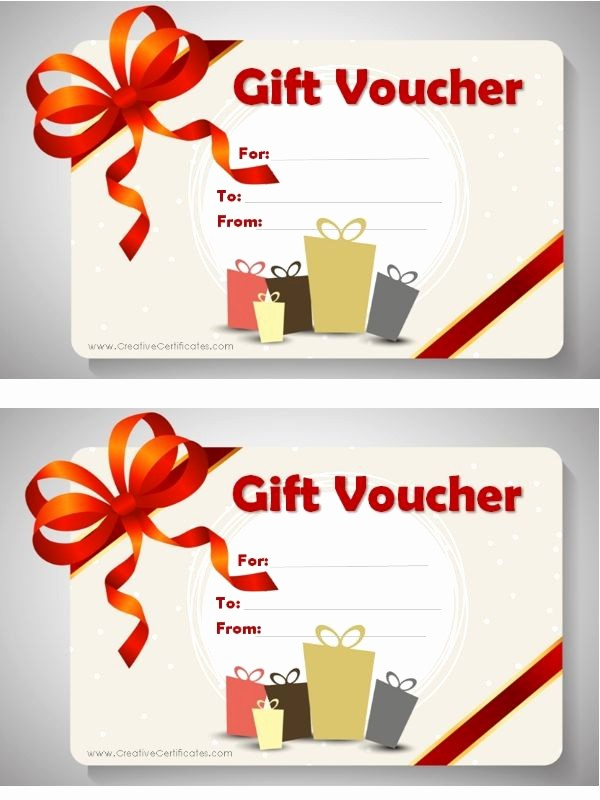 Printable Gift Coupon Templates Free Awesome Free Printable T Voucher Template