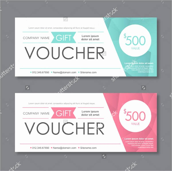 Printable Gift Coupon Templates Free Best Of 43 Voucher Designs