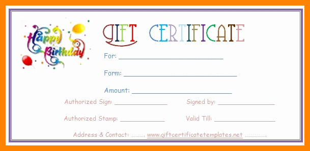 Printable Gift Coupon Templates Free Fresh 5 Printable Coupon Template