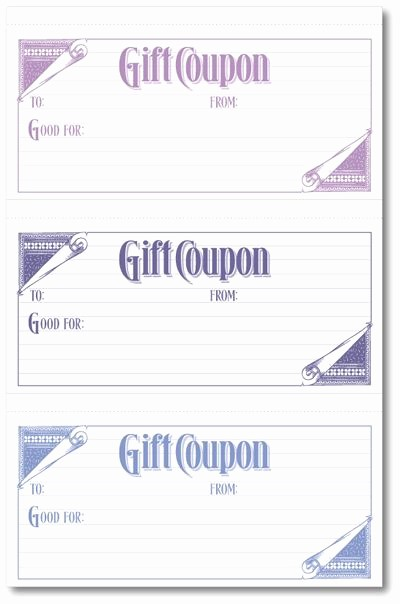 Printable Gift Coupon Templates Free Fresh Best 25 Blank T Certificate Ideas On Pinterest