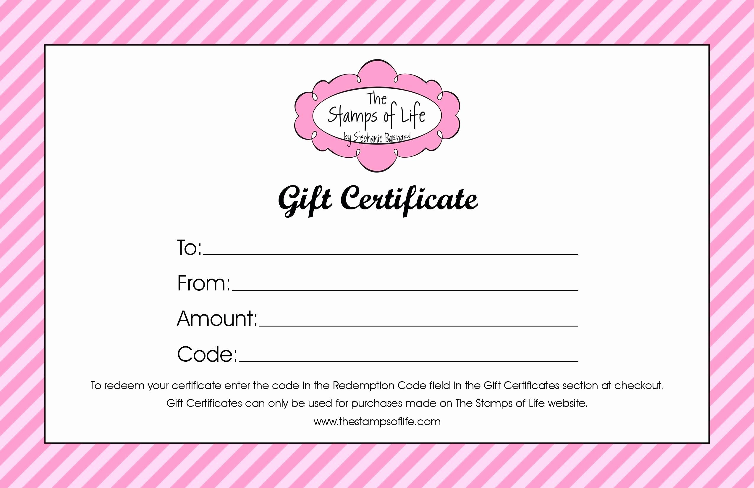 Printable Gift Coupon Templates Free New Template Birthday Gift Coupon Template