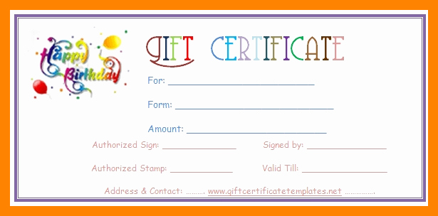 Printable Gift Coupon Templates Free Unique 8 Free Printable T Vouchers Template