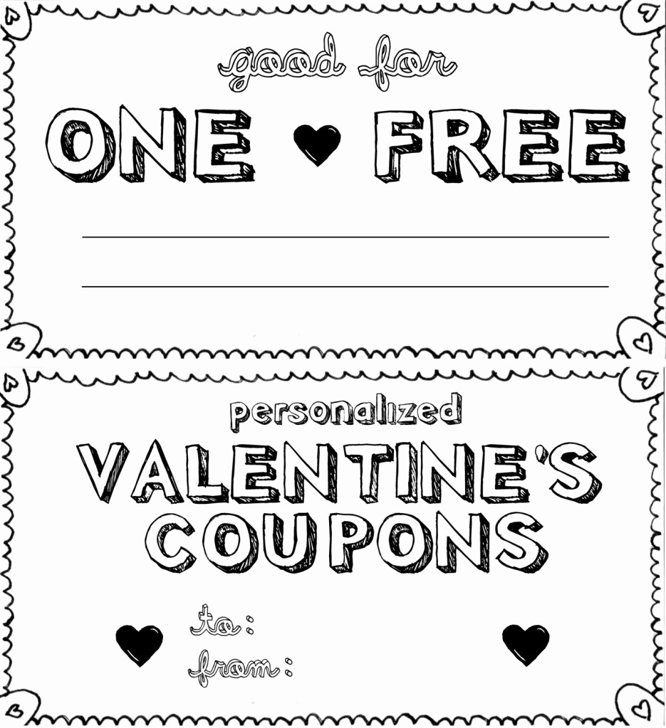 Printable Gift Coupon Templates Free Unique Coupon Book Template Beepmunk