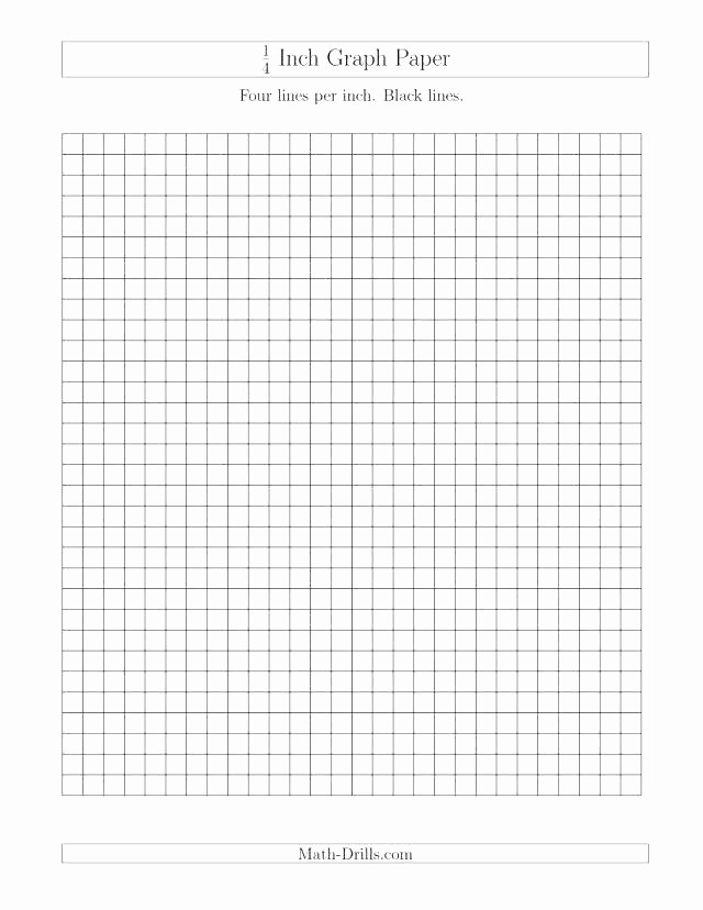 Printable Graph Paper Black Lines Awesome 1 Inch Graph Paper by Graph Paper Printable Coordinate