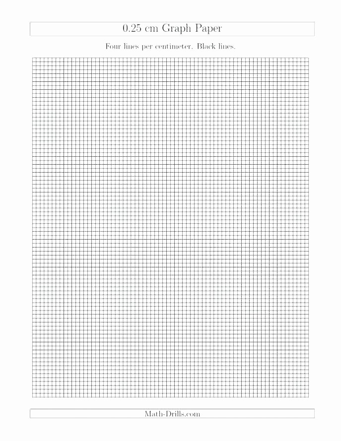 Printable Graph Paper Black Lines Beautiful Grid Paper Template Beautiful Graph for Word Free