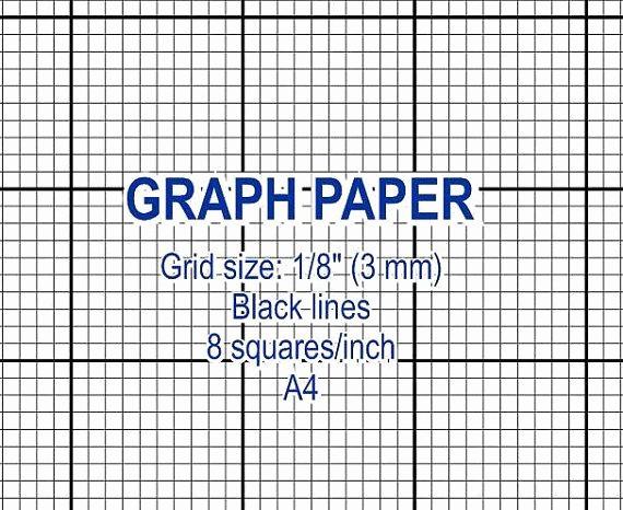 Printable Graph Paper Black Lines Elegant Graph Paper Printable 3 Mm Grid Cross Stitch Design 8