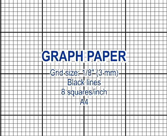 Printable Graph Paper Black Lines Inspirational Graph Paper Printable 3 Mm Grid Cross Stitch Design 8