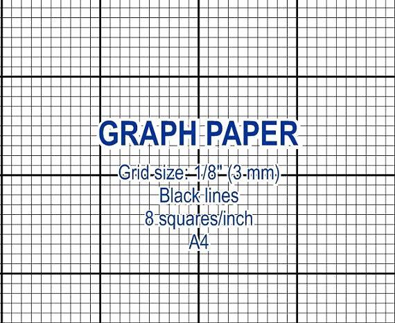 Printable Graph Paper Black Lines Inspirational Graph Paper Printable 3 Mm Grid Cross Stitch Design 8