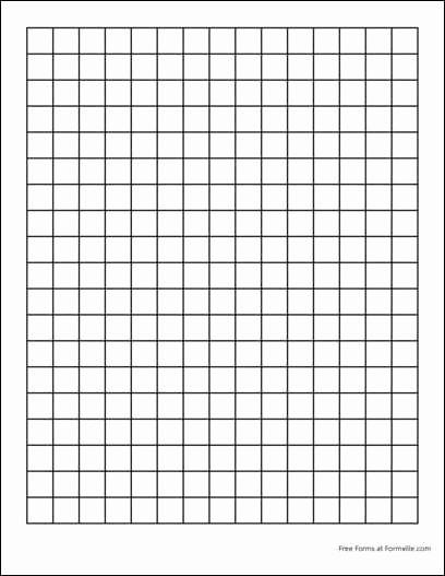 Printable Graph Paper Black Lines Luxury 13 Graph Paper Templates Excel Pdf formats