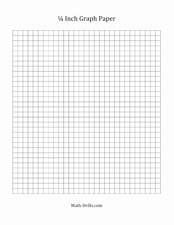 Printable Graph Paper Black Lines Luxury Inch Grid Paper 1 Grid Paper E Inch Grid Paper