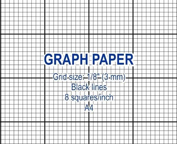 Printable Graph Paper Black Lines New Graph Paper Printable 3 Mm Grid Cross Stitch Design 8