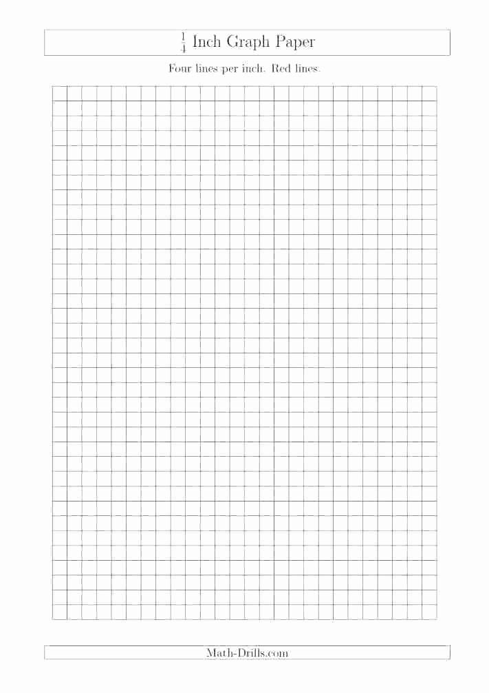 Printable Graph Paper Black Lines Unique 1 4 Inch Graph Paper Graph Paper Tar Kitchen Design
