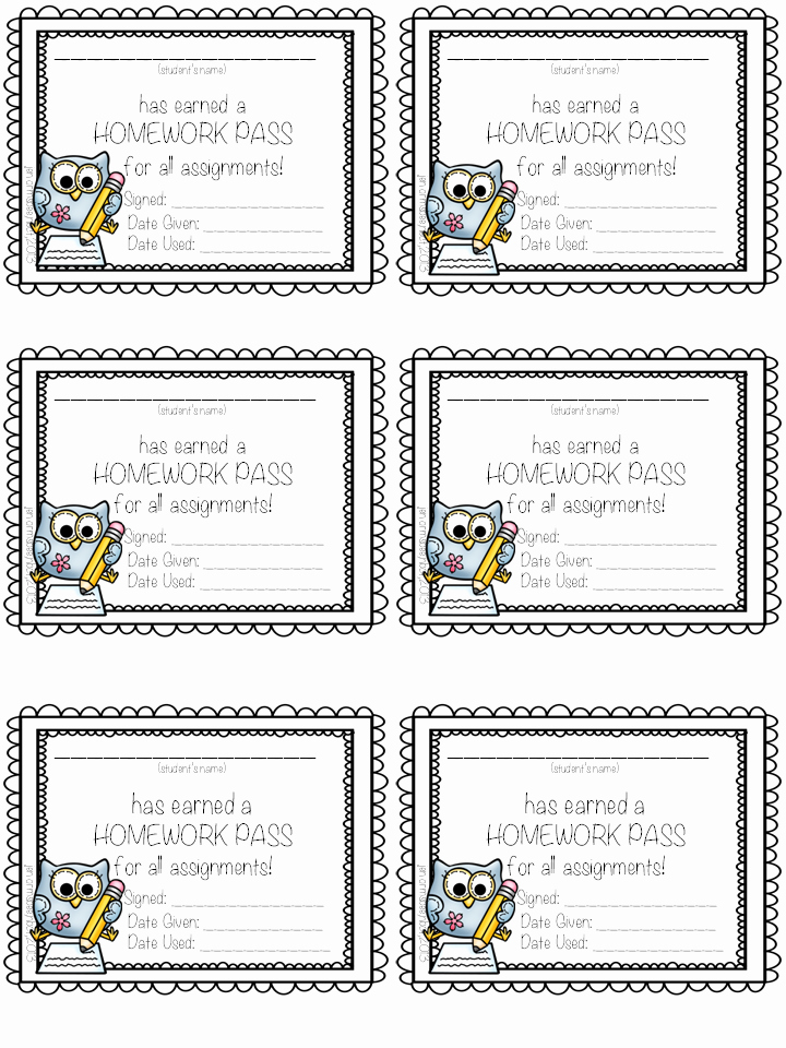 Printable Hall Passes for Students Awesome Teaching Life and Everything In Between Tried It
