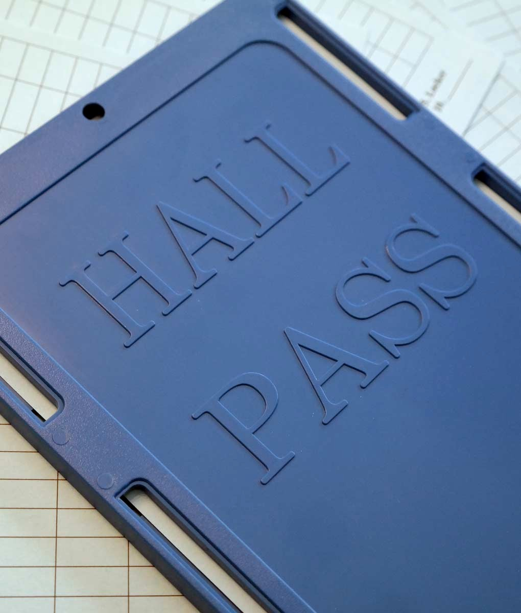 Printable Hall Passes for Students Beautiful Hall Pass Student Tracking School Safety