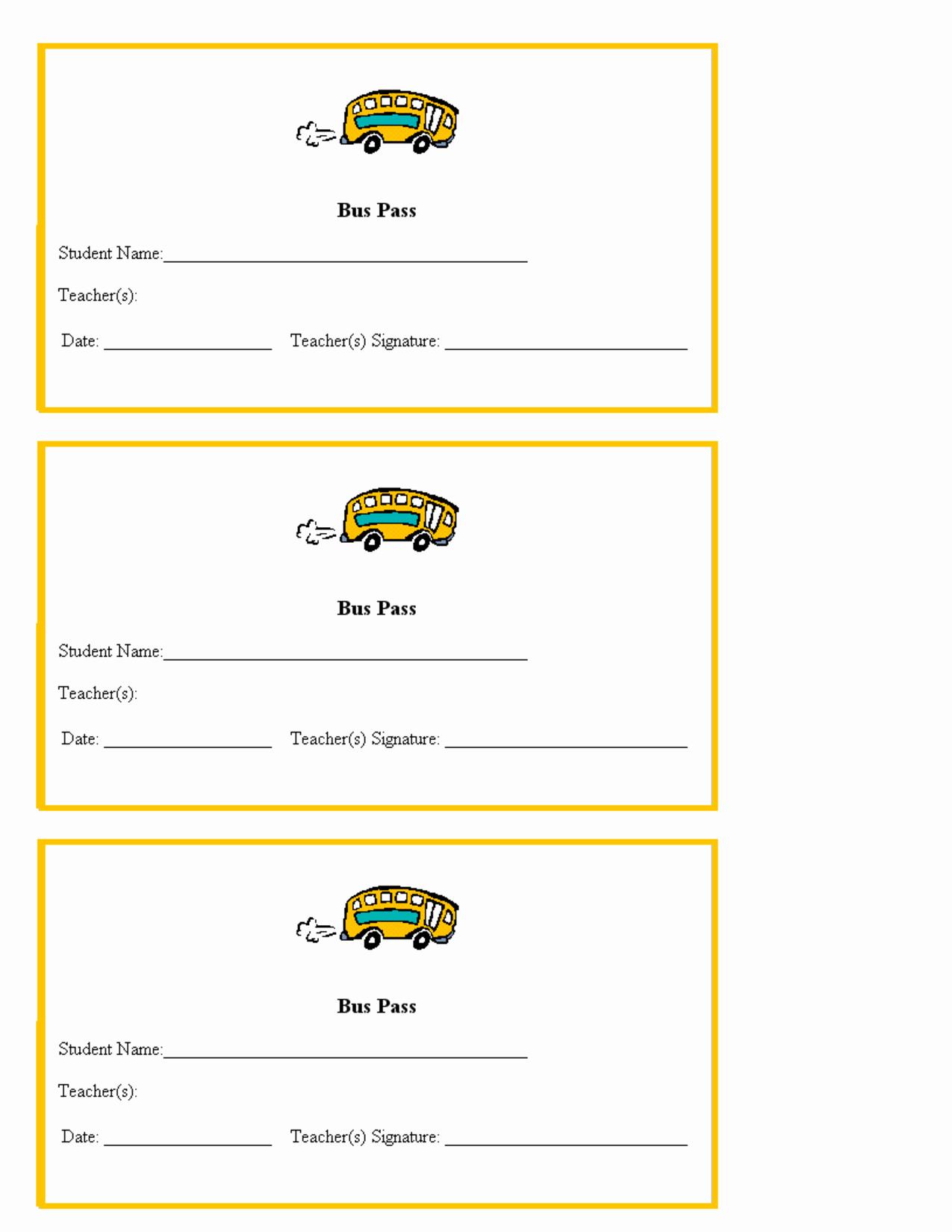 Printable Hall Passes for Students Inspirational Hall Pass Template for Teachers