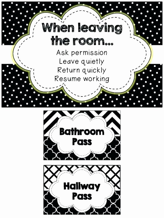 Printable Hall Passes for Students Lovely Bathroom Pass Back to School Meme Hall Bathroom Passes