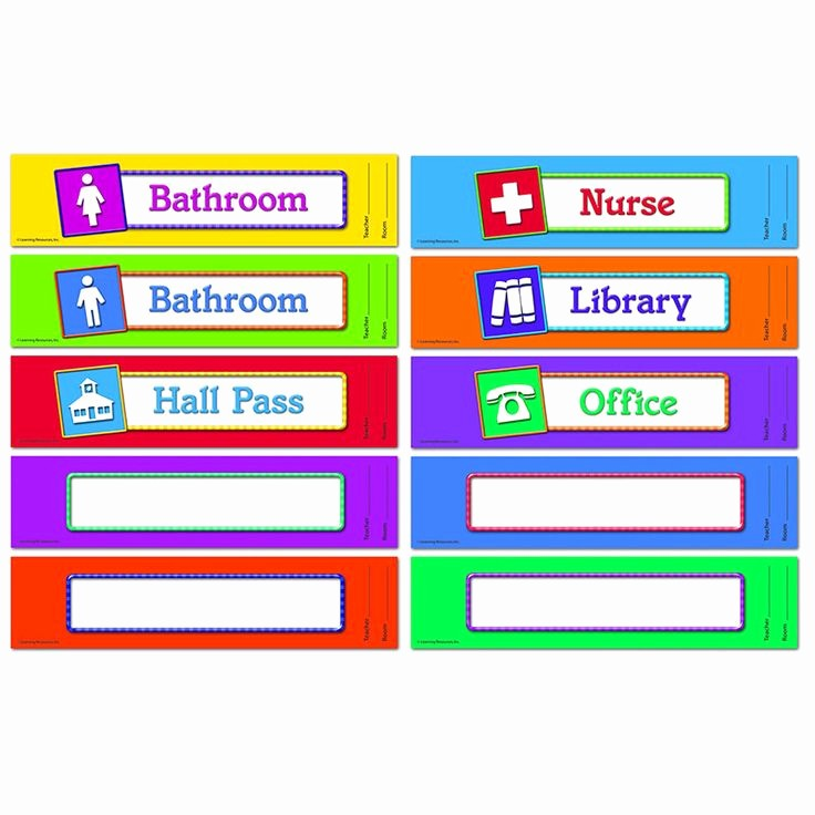 Printable Hall Passes for Students Unique Best 25 Hall Pass Ideas On Pinterest