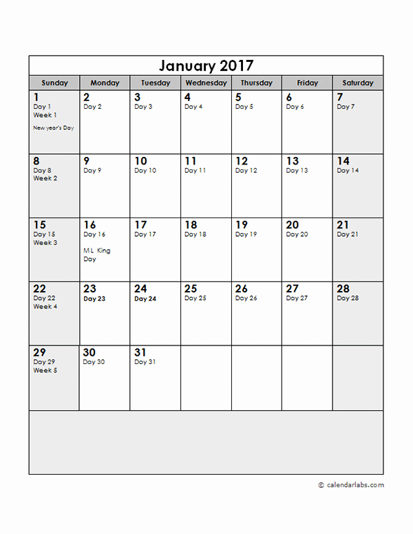 Printable Julian Date Calendar 2017 Inspirational 2017 Calendar with Julian Dates Free Printable Templates
