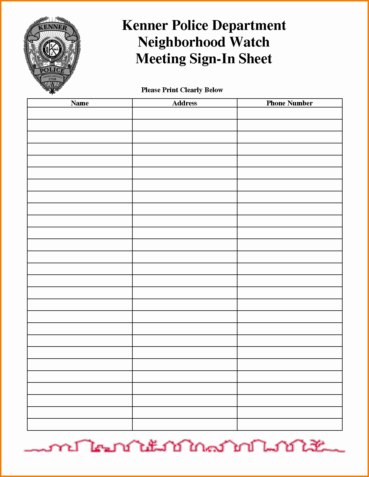 Printable Meeting Sign In Sheet Luxury Meeting Sign In Sheet Template
