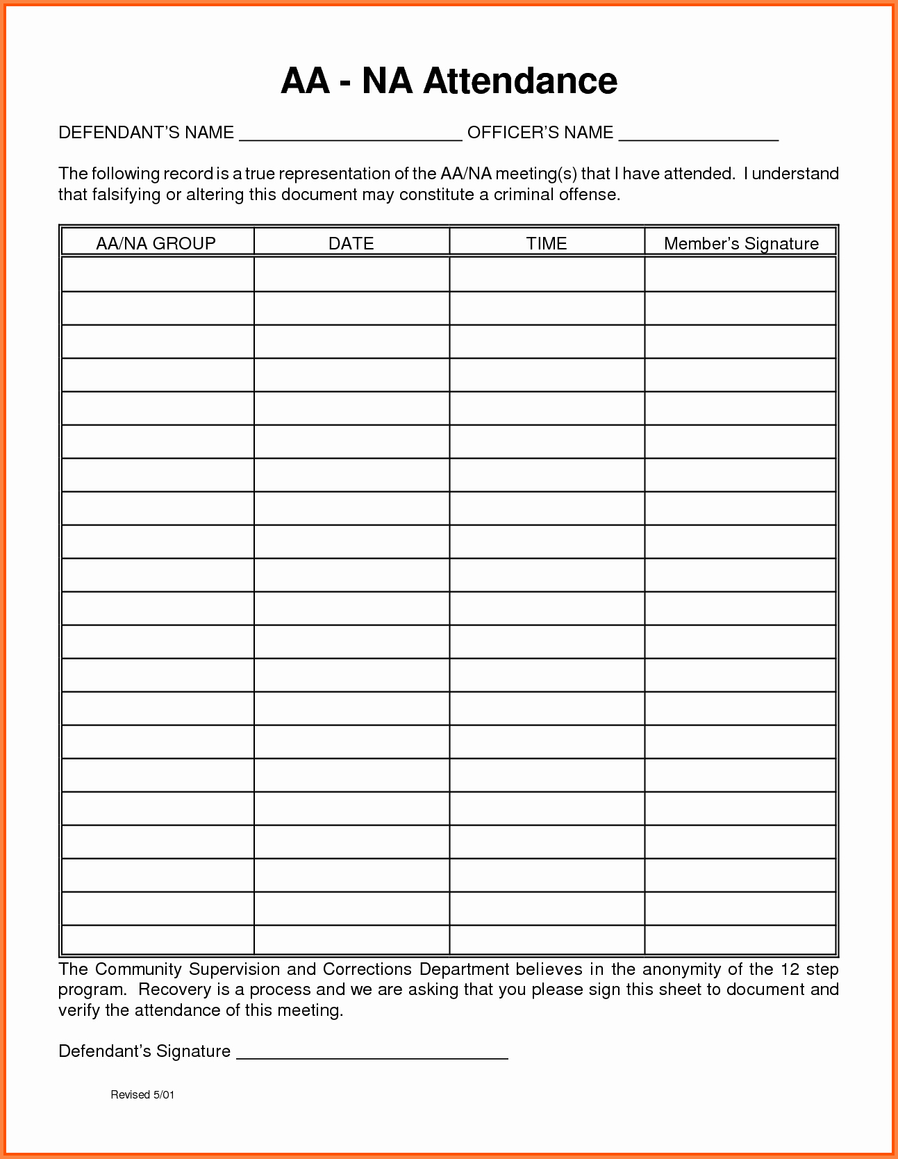 Printable Meeting Sign In Sheet New 15 Aa Meeting Sign In Sheet