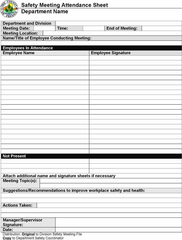 Printable Meeting Sign In Sheet Unique 4 Meeting Sign In Sheet Free Download