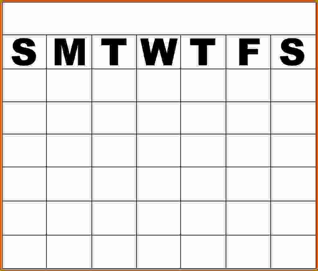 Printable Monday Through Friday Calendar Best Of 11 Monday Through Friday Printable Calendar