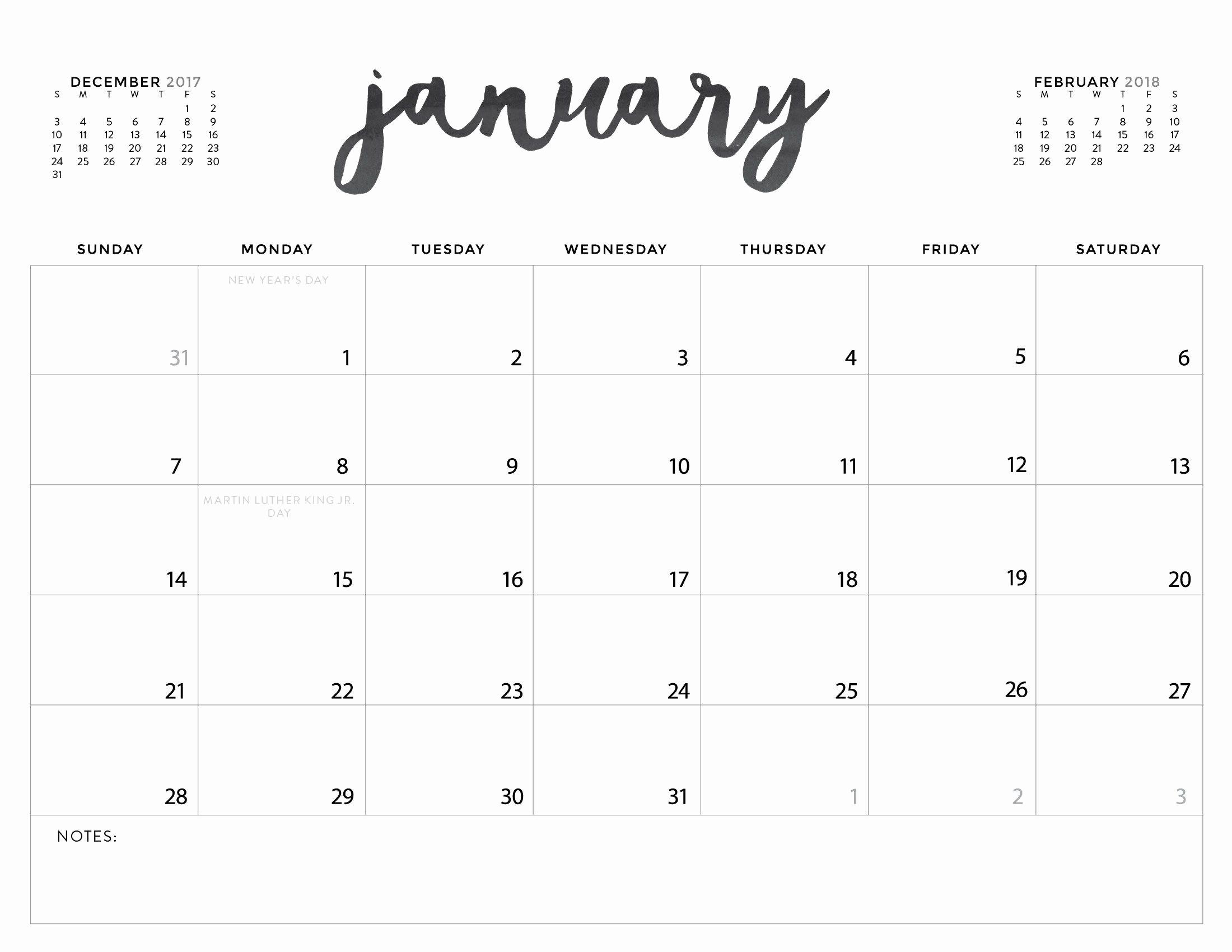 Printable Monday Through Friday Calendar Fresh Printable Calendar August 2018 Monday – Calendar Printable