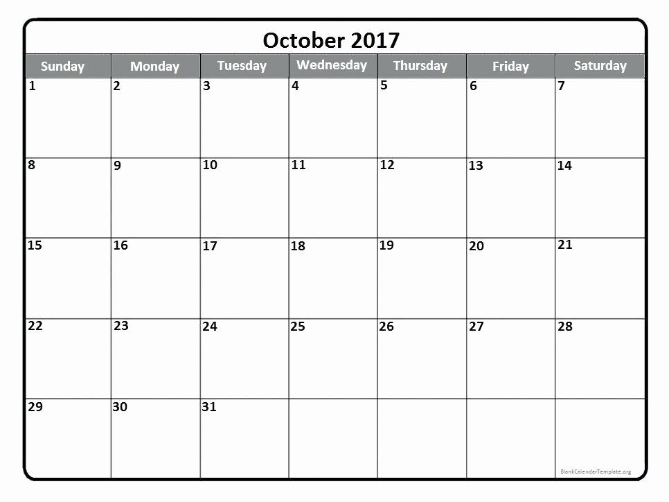 Printable Monday Through Friday Calendar Luxury Monday Thru Friday Monthly Calendar Template Through New