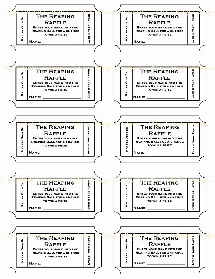 Printable Raffle Tickets Blank Kids Awesome Admit E Ticket Template Example Mughals