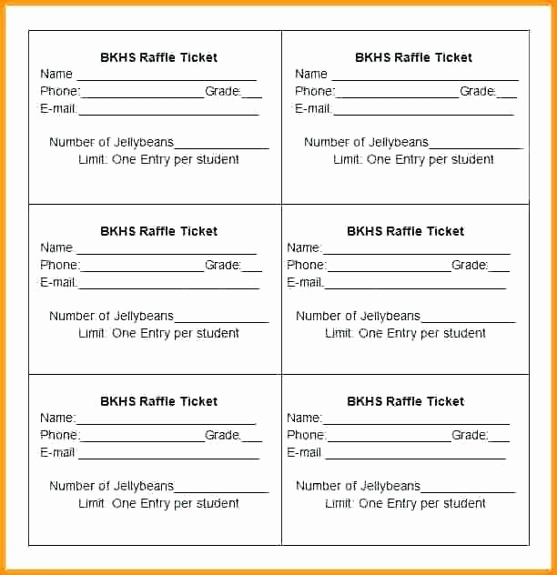 Printable Raffle Tickets Blank Kids Best Of Printable Raffle Tickets Ticket Template Download Free
