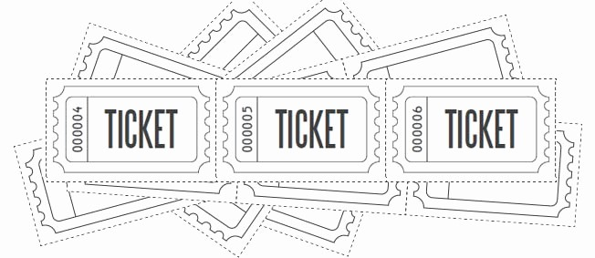 Printable Raffle Tickets Blank Kids Fresh Customize Printable Raffle Ticket Blanks