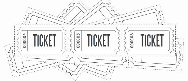 Printable Raffle Tickets Blank Kids Fresh Customize Printable Raffle Ticket Blanks