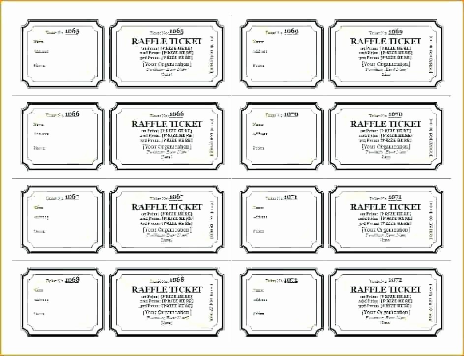 free ticket printing printable template blank tickets raffle stub best a