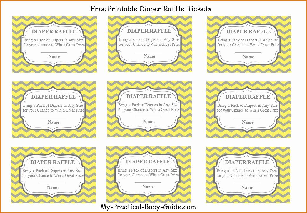 Printable Raffle Tickets Blank Kids Unique 4 Printable Raffle Tickets