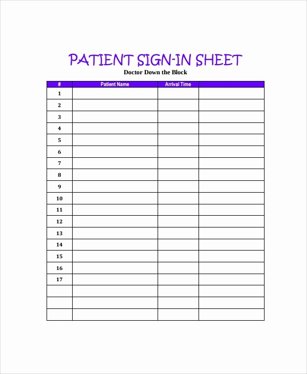 "Printable Sign In Sheets Template Inspirational Search Results for ""patient Sign In Sheet Printable"