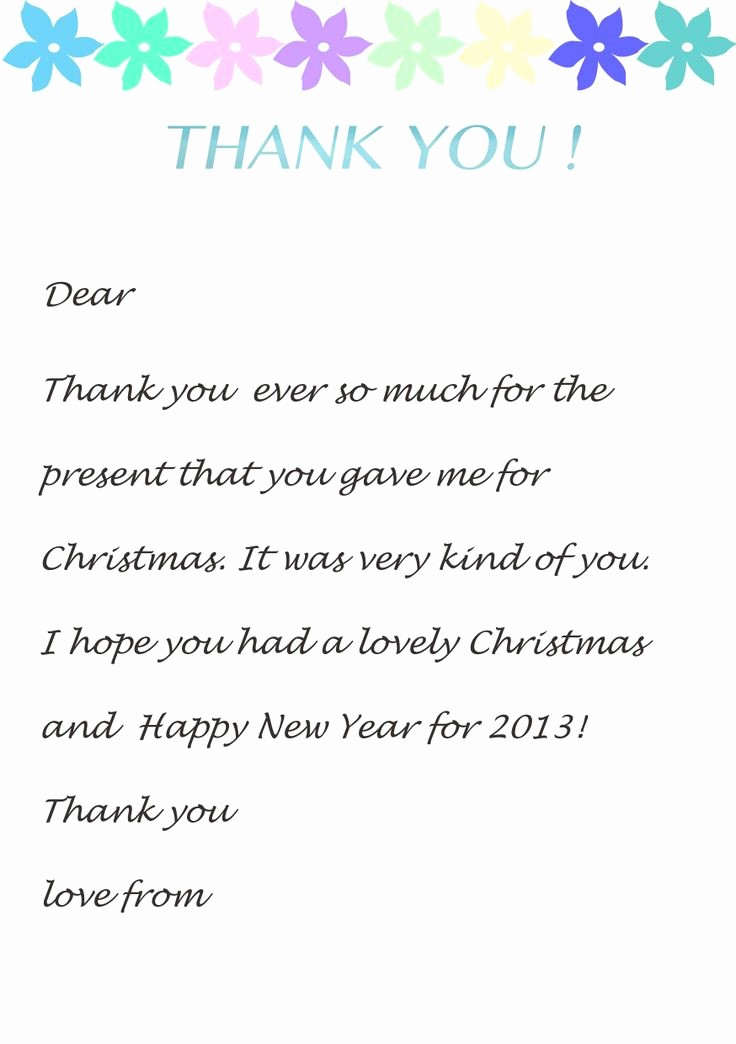 Printable Thank You Note Template Fresh Thank You Note Templates