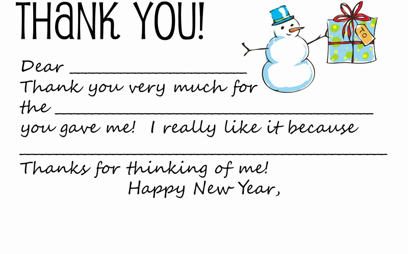 Printable Thank You Note Template Unique Dabbled