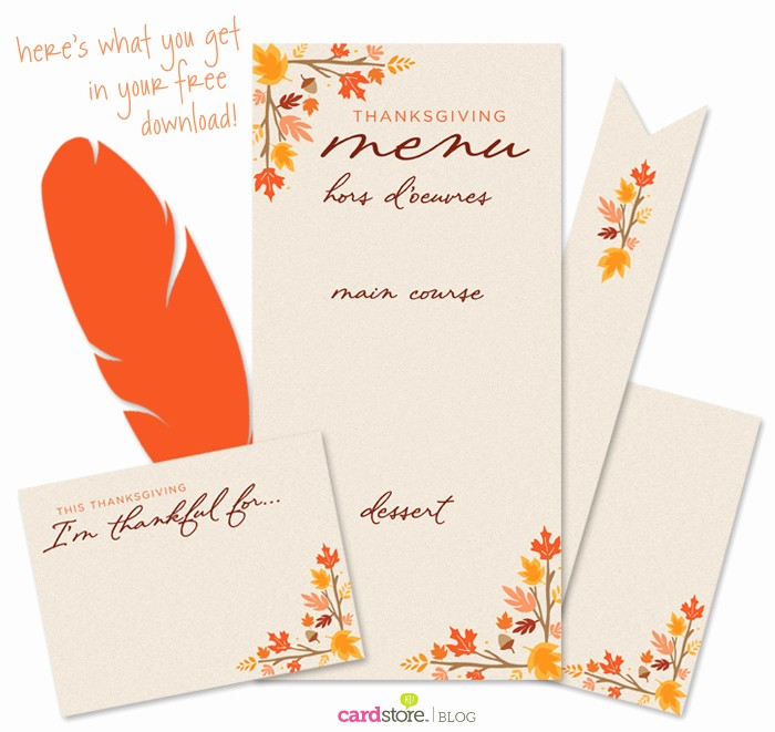 Printable Thanksgiving Menu Template Free Elegant Printable Thanksgiving Menu Templates for Free – Happy