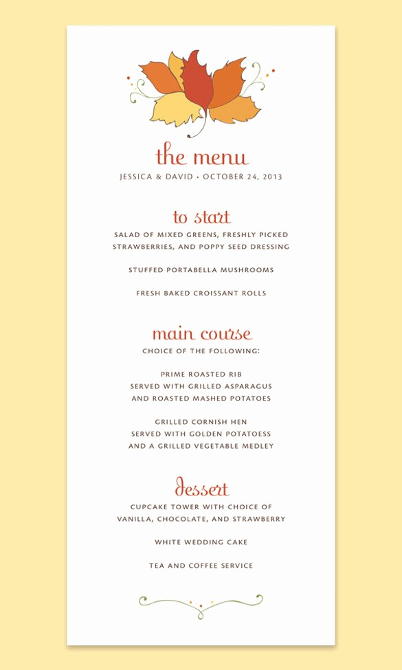 Printable Thanksgiving Menu Template Free Fresh Printable Thanksgiving Menu Templates for Free – Happy