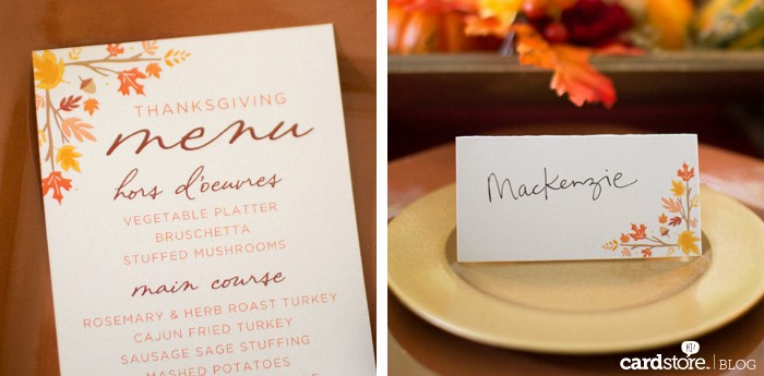 Printable Thanksgiving Menu Template Free Inspirational Printable