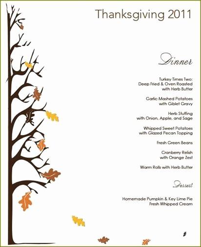 Printable Thanksgiving Menu Template Free Luxury Free Printable Thanksgiving Dinner Flyers – Happy Easter