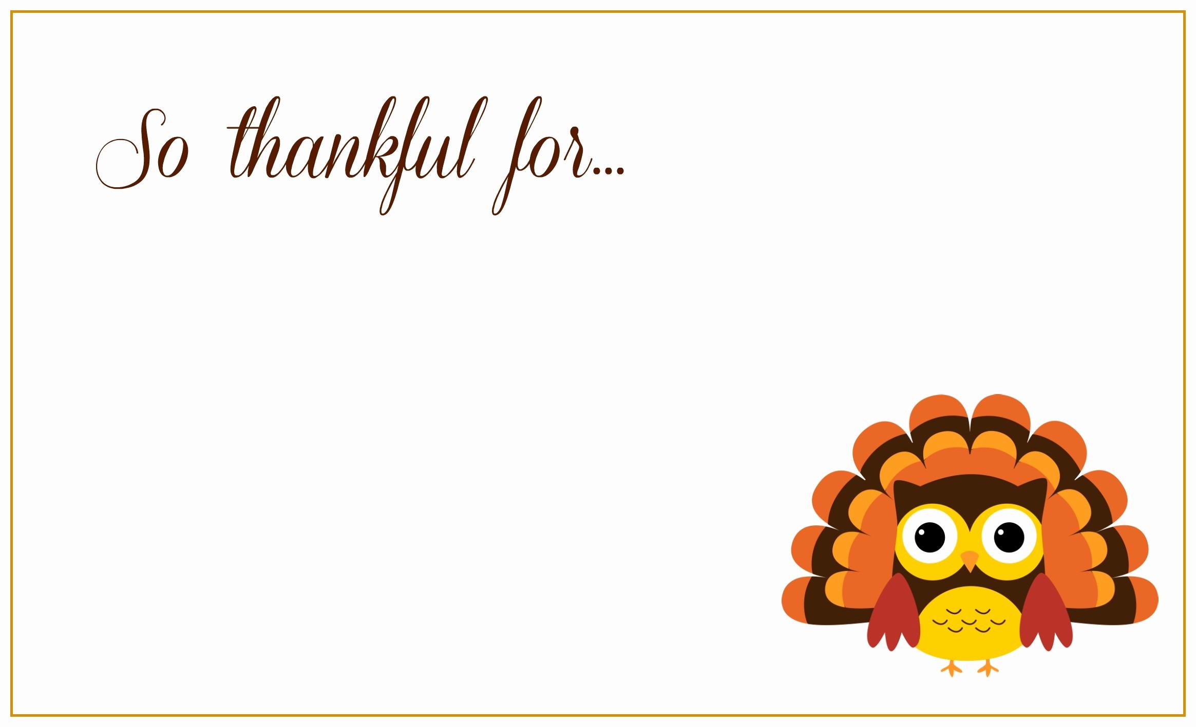Printable Thanksgiving Menu Template Free Unique 8 Best Of Free Thanksgiving Printable Card