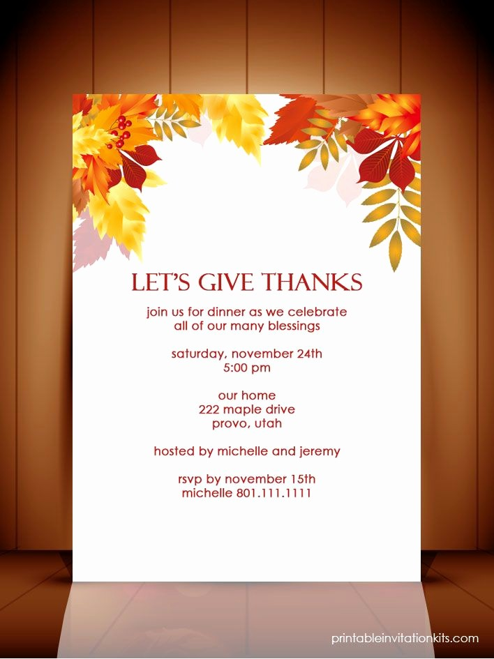Printable Thanksgiving Menu Template Free Unique Thanksgiving Potluck Flyer Templates – Happy Easter