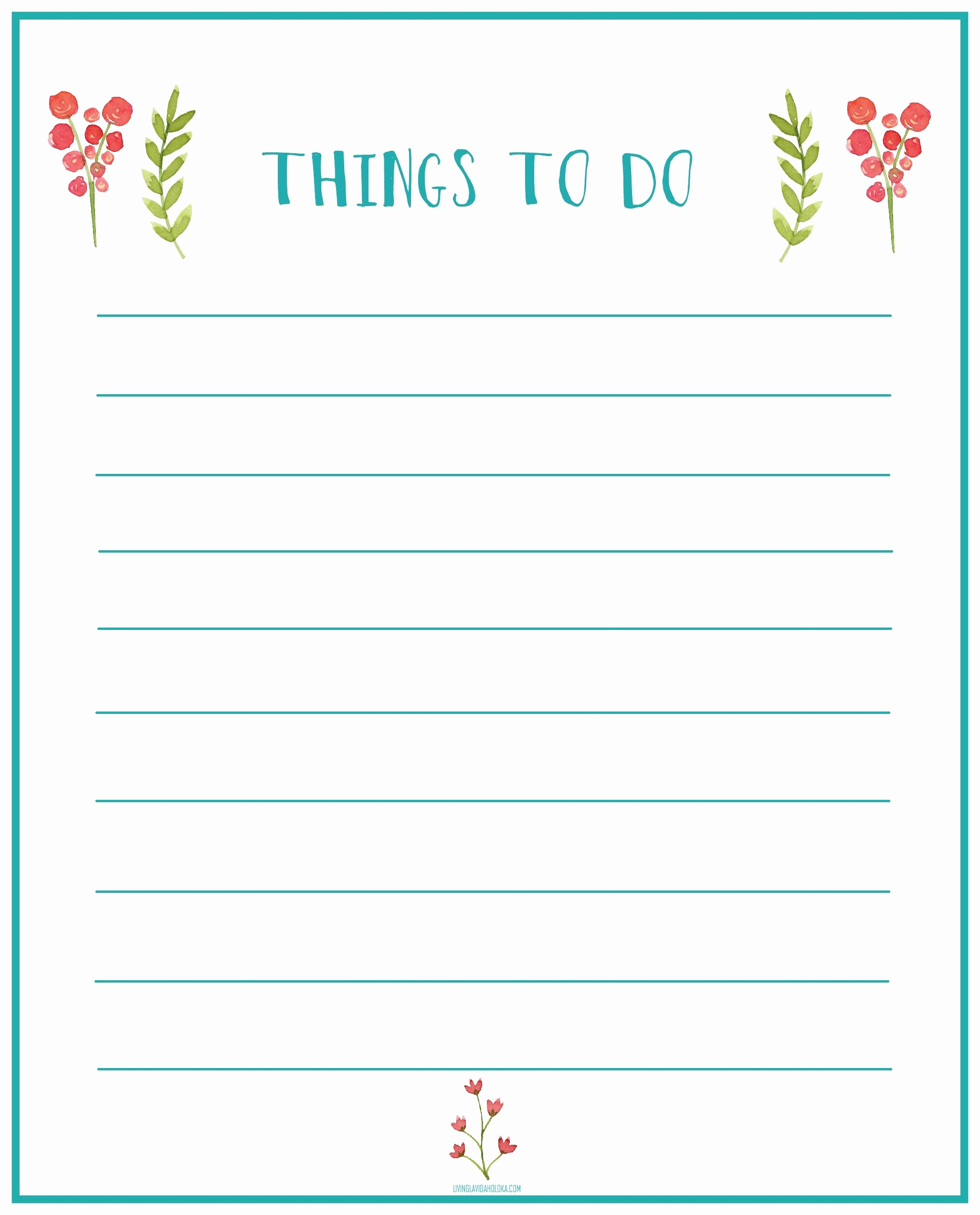 Printable Things to Do Lists Luxury Home Fice Update Things to Do Printable Living La